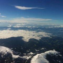 Flugwegposition um 12:45:26: Aufgenommen in der Nähe von Trahütten, 8530, Österreich in 3899 Meter