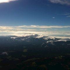 Flugwegposition um 12:21:19: Aufgenommen in der Nähe von Bad Gams, Österreich in 2753 Meter