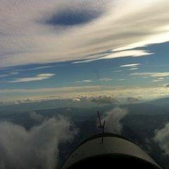 Flugwegposition um 12:21:16: Aufgenommen in der Nähe von Bad Gams, Österreich in 2750 Meter