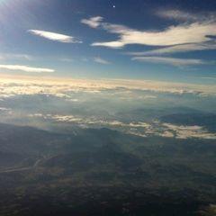 Flugwegposition um 13:16:38: Aufgenommen in der Nähe von Gemeinde Soboth, Österreich in 4669 Meter