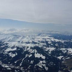 Flugwegposition um 11:31:56: Aufgenommen in der Nähe von Gemeinde Westendorf, Österreich in 3206 Meter