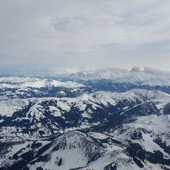 Flugwegposition um 11:32:02: Aufgenommen in der Nähe von Gemeinde Westendorf, Österreich in 3192 Meter
