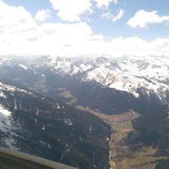 Flugwegposition um 12:30:55: Aufgenommen in der Nähe von Sarntal, Bozen, Italien in 2860 Meter
