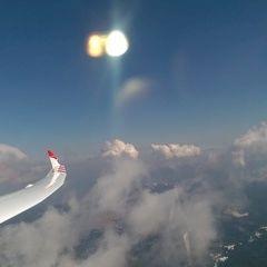 Flugwegposition um 13:28:48: Aufgenommen in der Nähe von 36012 Asiago, Vicenza, Italien in 2733 Meter