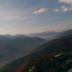 Flugwegposition um 15:44:30: Aufgenommen in der Nähe von Gemeinde Schmirn, 6154, Österreich in 2177 Meter