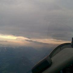 Flugwegposition um 14:47:29: Aufgenommen in der Nähe von Gemeinde Scheffau am Wilden Kaiser, Österreich in 2775 Meter