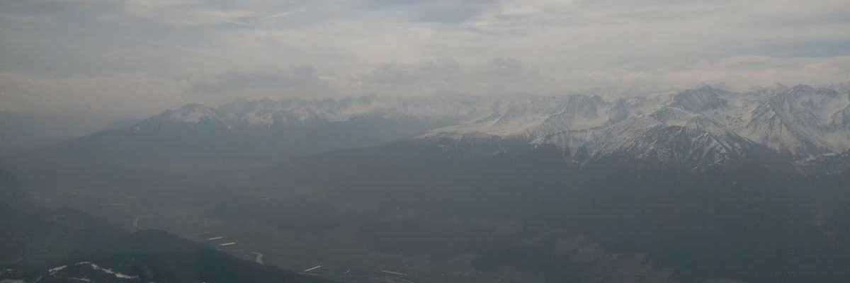 Flugwegposition um 09:41:41: Aufgenommen in der Nähe von Gemeinde Leutasch, Österreich in 2505 Meter