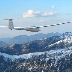 Flugwegposition um 15:00:31: Aufgenommen in der Nähe von Gemeinde Liezen, Österreich in 1320 Meter
