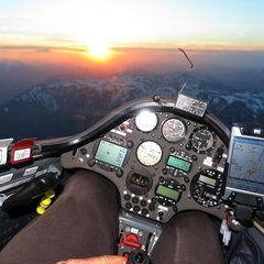 Flugwegposition um 16:19:58: Aufgenommen in der Nähe von Hieflau, Österreich in 2373 Meter