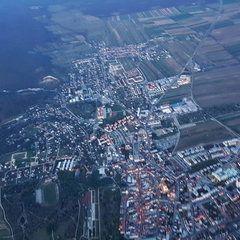 Verortung via Georeferenzierung der Kamera: Aufgenommen in der Nähe von Eisenstadt, Österreich in 1500 Meter