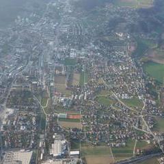 Flugwegposition um 15:10:24: Aufgenommen in der Nähe von Gemeinde Floing, Österreich in 1931 Meter