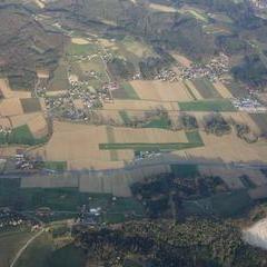 Flugwegposition um 15:12:59: Aufgenommen in der Nähe von Gemeinde Stubenberg am See, Österreich in 2260 Meter