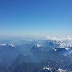 Flugwegposition um 08:56:17: Aufgenommen in der Nähe von Landl, Österreich in 3643 Meter