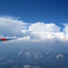 Flugwegposition um 14:15:03: Aufgenommen in der Nähe von Municipality of Kranjska Gora, Slowenien in 2805 Meter