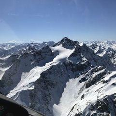Verortung via Georeferenzierung der Kamera: Aufgenommen in der Nähe von Gemeinde Flirsch, Österreich in 3100 Meter