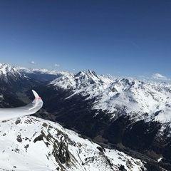 Verortung via Georeferenzierung der Kamera: Aufgenommen in der Nähe von Gemeinde St. Anton am Arlberg, 6580, Österreich in 2800 Meter