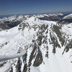 Verortung via Georeferenzierung der Kamera: Aufgenommen in der Nähe von Gemeinde Pettneu am Arlberg, Österreich in 3000 Meter