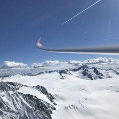 Verortung via Georeferenzierung der Kamera: Aufgenommen in der Nähe von Gemeinde Kaunertal, Österreich in 3500 Meter