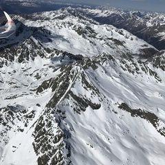 Verortung via Georeferenzierung der Kamera: Aufgenommen in der Nähe von Gemeinde Pfunds, 6542, Österreich in 3800 Meter