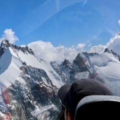 Flugwegposition um 11:51:37: Aufgenommen in der Nähe von Spiss, Österreich in 2968 Meter