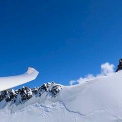 Flugwegposition um 11:52:08: Aufgenommen in der Nähe von Bezirk Inn, Schweiz in 2929 Meter