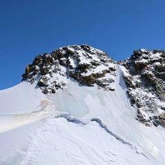 Flugwegposition um 11:52:10: Aufgenommen in der Nähe von Bezirk Inn, Schweiz in 2929 Meter