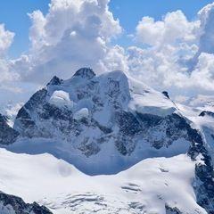 Flugwegposition um 11:48:36: Aufgenommen in der Nähe von Gemeinde Pfunds, 6542, Österreich in 2900 Meter