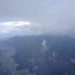 Flugwegposition um 13:54:53: Aufgenommen in der Nähe von Gemeinde Berg im Drautal, Österreich in 3276 Meter