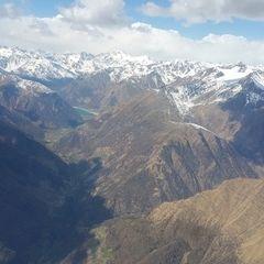 Flugwegposition um 11:42:32: Aufgenommen in der Nähe von 39025 Naturno BZ, Italien in 3615 Meter