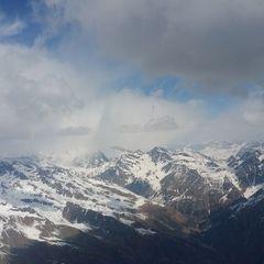 Flugwegposition um 11:57:22: Aufgenommen in der Nähe von Mals, Bozen, Italien in 3637 Meter