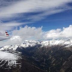 Flugwegposition um 12:10:53: Aufgenommen in der Nähe von Krakauschatten, 8854, Österreich in 2677 Meter