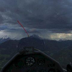 Flugwegposition um 16:20:08: Aufgenommen in der Nähe von Gemeinde Roßleithen, 4575, Österreich in 1001 Meter