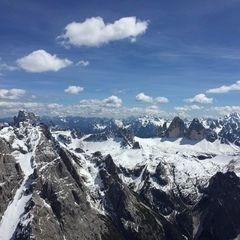 Verortung via Georeferenzierung der Kamera: Aufgenommen in der Nähe von Innichen, Bozen, Italien in 3100 Meter