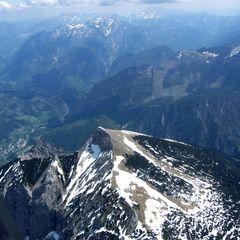 Flugwegposition um 11:47:07: Aufgenommen in der Nähe von Weng im Gesäuse, 8913, Österreich in 2350 Meter