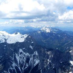 Flugwegposition um 11:45:25: Aufgenommen in der Nähe von Weng im Gesäuse, 8913, Österreich in 2461 Meter
