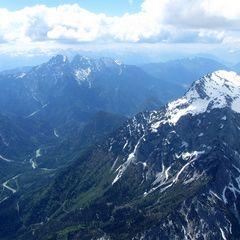 Flugwegposition um 11:45:56: Aufgenommen in der Nähe von Weng im Gesäuse, 8913, Österreich in 2441 Meter