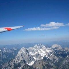 Flugwegposition um 13:47:44: Aufgenommen in der Nähe von Johnsbach, 8912, Österreich in 2643 Meter