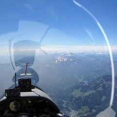Flugwegposition um 11:52:07: Aufgenommen in der Nähe von Altenberg an der Rax, Österreich in 2646 Meter