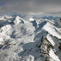 Flugwegposition um 16:14:06: Aufgenommen in der Nähe von Gemeinde Fusch an der Großglocknerstraße, 5672, Österreich in 2909 Meter