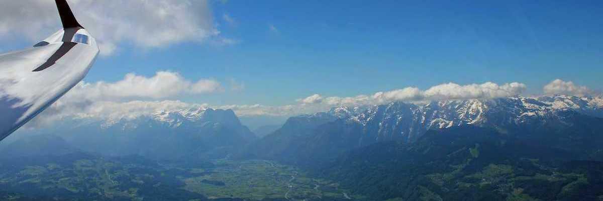 Flugwegposition um 09:10:56: Aufgenommen in der Nähe von Berchtesgadener Land, Deutschland in 1983 Meter
