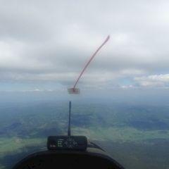 Verortung via Georeferenzierung der Kamera: Aufgenommen in der Nähe von Okres Prachatice, Tschechien in 2200 Meter