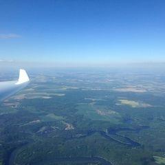 Verortung via Georeferenzierung der Kamera: Aufgenommen in der Nähe von Okres Znojmo, Tschechien in 2300 Meter
