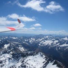 Flugwegposition um 12:27:29: Aufgenommen in der Nähe von St. Nikolai im Sölktal, 8961, Österreich in 2894 Meter