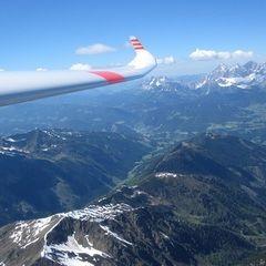 Flugwegposition um 13:21:17: Aufgenommen in der Nähe von Rohrmoos-Untertal, Österreich in 3013 Meter