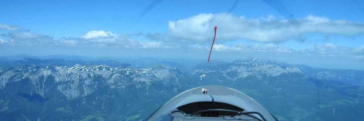 Flugwegposition um 11:29:14: Aufgenommen in der Nähe von Gemeinde Wald am Schoberpaß, 8781, Österreich in 2526 Meter