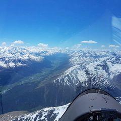Verortung via Georeferenzierung der Kamera: Aufgenommen in der Nähe von Prättigau/Davos, Schweiz in 0 Meter