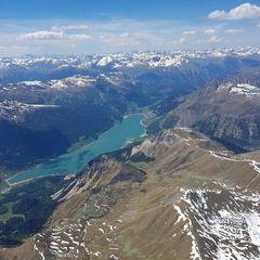 Verortung via Georeferenzierung der Kamera: Aufgenommen in der Nähe von Mals, Bozen, Italien in 4200 Meter