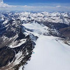 Verortung via Georeferenzierung der Kamera: Aufgenommen in der Nähe von 39020 Schnals, Bozen, Italien in 4100 Meter
