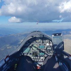 Verortung via Georeferenzierung der Kamera: Aufgenommen in der Nähe von Gemeinde Thomatal, Österreich in 2900 Meter