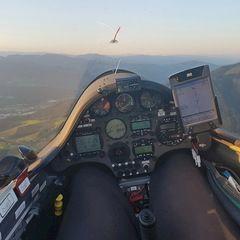 Verortung via Georeferenzierung der Kamera: Aufgenommen in der Nähe von Leoben, Österreich in 1400 Meter